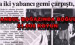 İstanbul Boğazında Boğulan Koyunlar