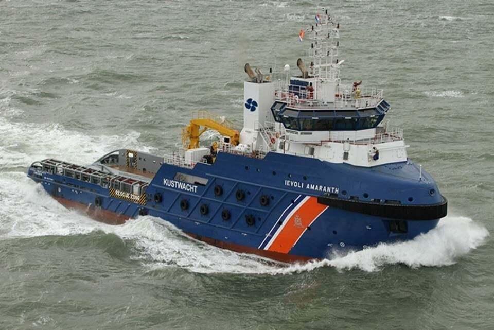 haberler, gundem - Multraship now operate the Dutch Coastguard ETV to be renamed Guardian Netherlands Coastguard - 15 Konteynır Güverteden Denize Düştü