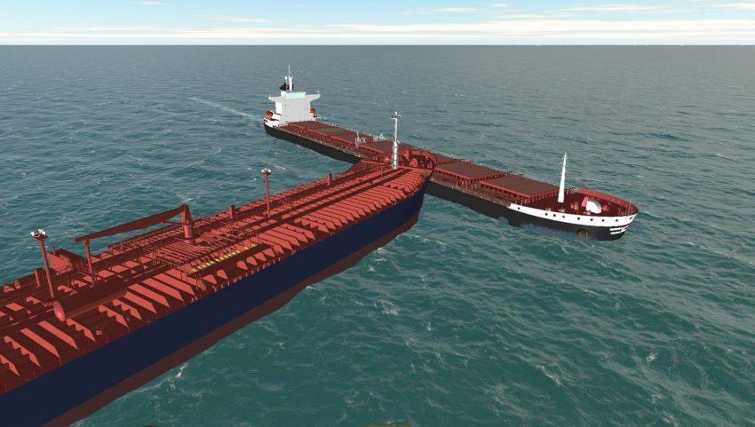 gemi çatışma