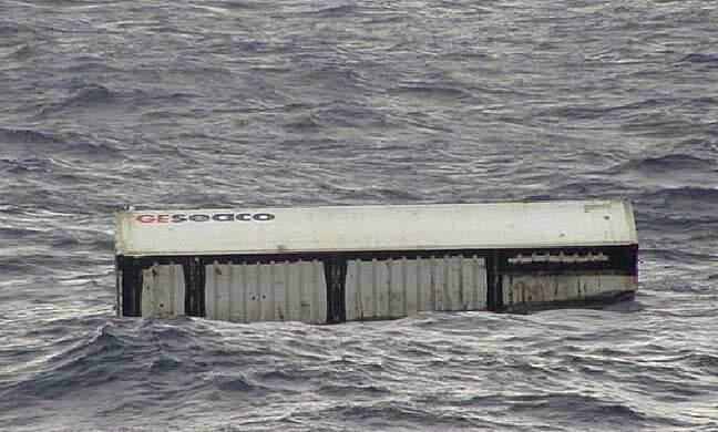 haberler, gundem - container awash 1 - 15 Konteynır Güverteden Denize Düştü