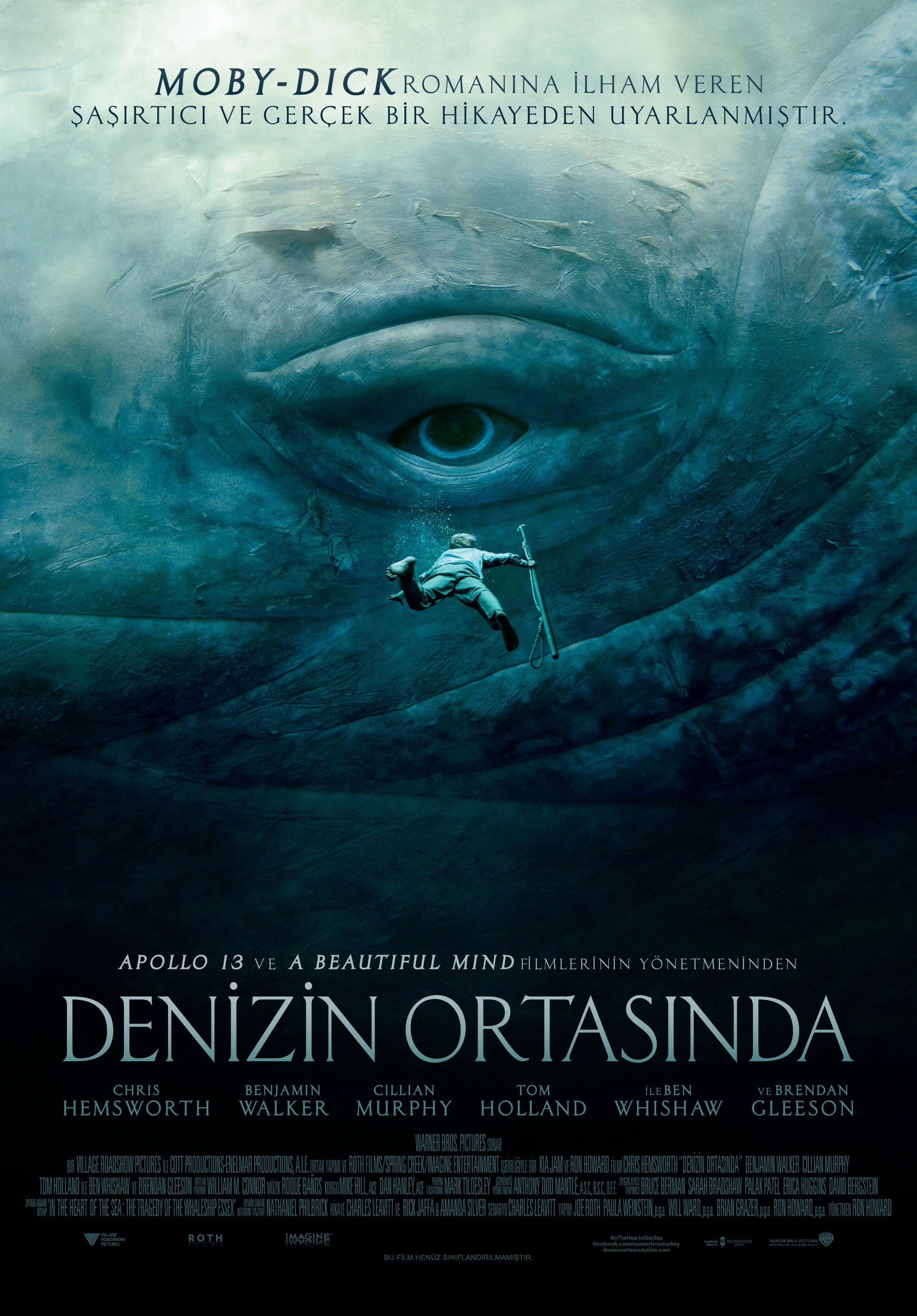 uncategorized - denizin ortasında - DENİZİN ORTASINDA - In the Heart of the Sea - 2015 | IMDB 7.0/10
