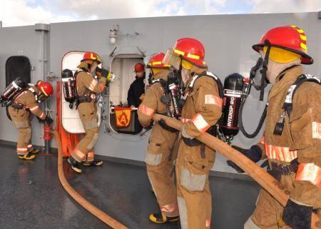 gemi-insaa-ve-stabilite - navy firefighter technology - Deniz Yolu İle Taşınacak Yük İle Dikkat Edilecek Unsurlar