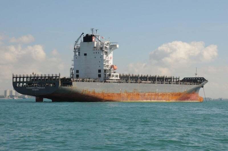 sektorel, haberler - panamax haber 2 - 7 Yaşındaki Gemi Hurdaya Verildi