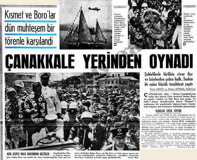 ilginc - sadun boroo2 - Kendi Yelkenlisi İle Dünya Etrafında Tur Atan İlk Türk