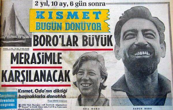 ilginc - sadun2 - Kendi Yelkenlisi İle Dünya Etrafında Tur Atan İlk Türk