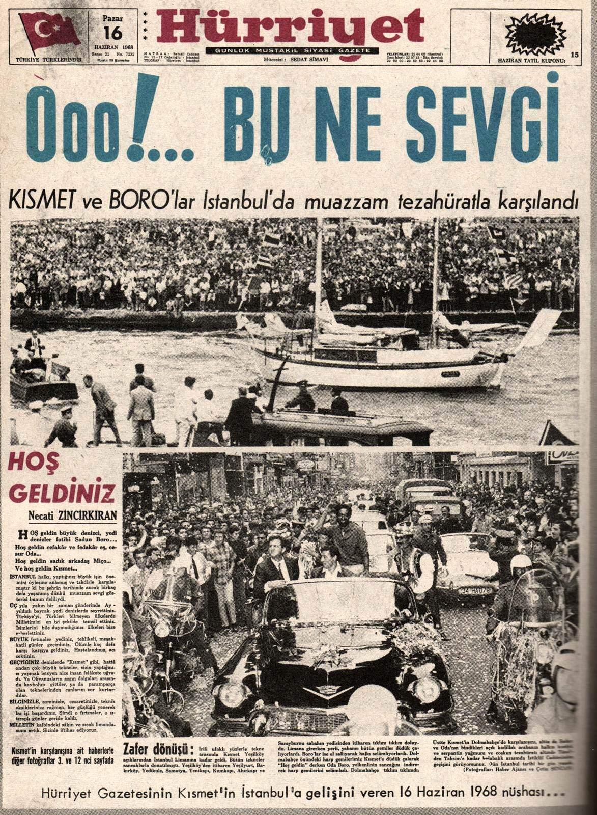 ilginc - sadunboro 002 - Kendi Yelkenlisi İle Dünya Etrafında Tur Atan İlk Türk