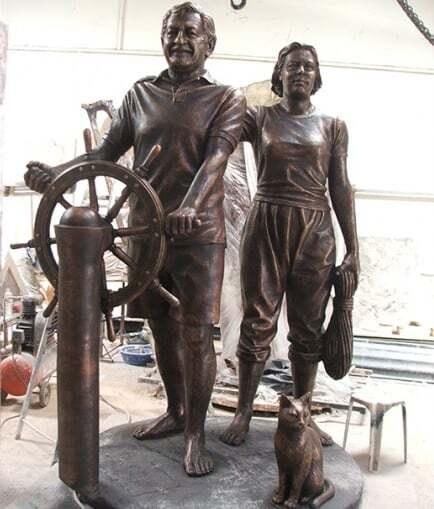 ilginc - saun heykel - Kendi Yelkenlisi İle Dünya Etrafında Tur Atan İlk Türk