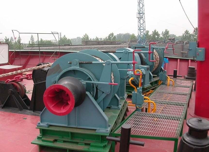 gemicilik-ve-manevra, gemi-insaa-ve-stabilite - sdgdfvbxc - Gemi Demir Irgatı
