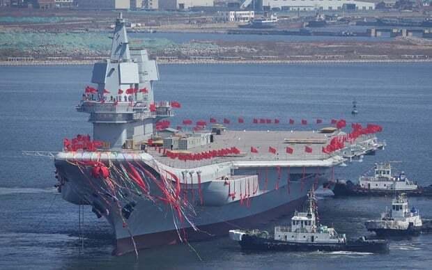 sektorel, haberler - in uçak gemisi 2 - Çin İlk Yerli Uçak Gemisini Suya İndirdi