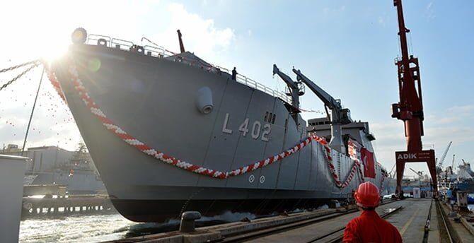 sektorel, haberler - bayraktar 003 - TCG Bayraktar Deniz Kuvvetleri Komutanlığına Teslim Edildi