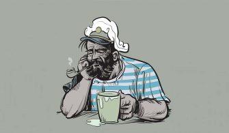 Üzgün denizci