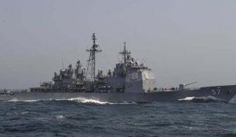 Amerikan savaş gemisi balıkçıya çarptı