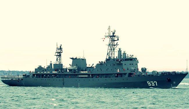 Cezayir savaş gemisinde patlama