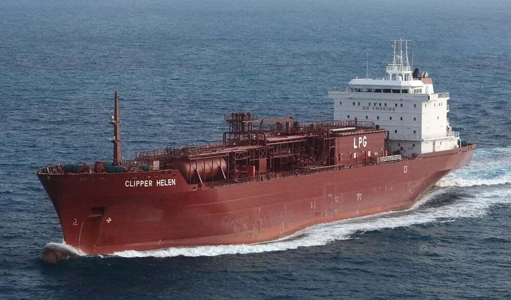 tanker - Clipper Helen - Etilen Gemileri - Liquefied Ethylene Carrier Vessels