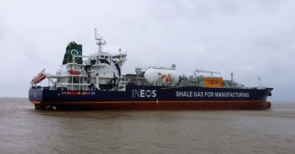 Etilen Gemisi nedir - Liquefied Ethylene tanker vessel