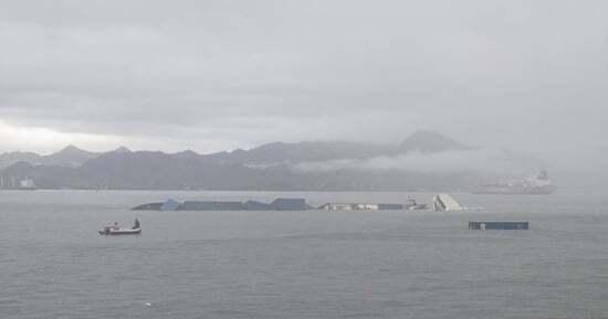 ilginc - Konteynır gemisi devrildi 2 - Hatalı Hesap, Gemiyi Devirdi