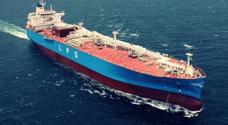 teknik-bilgiler, gemi-insaa-ve-stabilite - LPG gemisi - Gemi Çeşitleri Ve Kullanım Amaçları