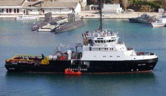 Rusya, Batan Savaş Gemisi için Kurtarma Gemisi Gönderdi