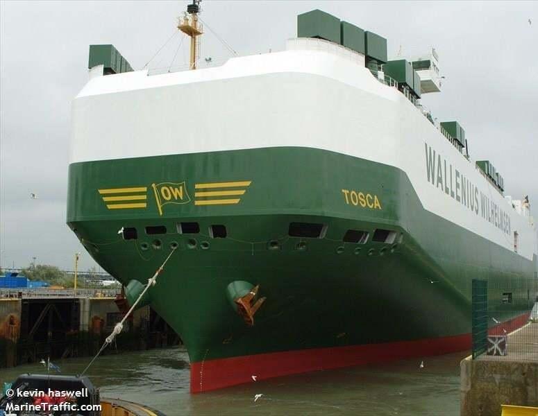 haberler, gundem - TOSCA deniziclik gıda zehirlenmesi - Gemide 14 Personel Gıda Zehirlenmesi Geçirdi