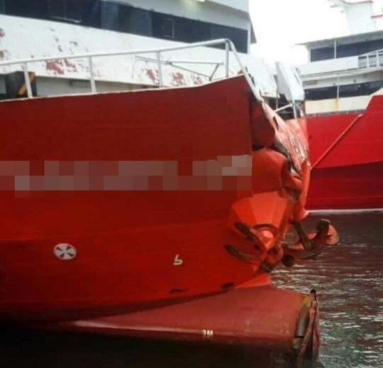 haberler, gundem - Tekridağ gemi kazası - Marmara'da Feribot ile Yük Gemisi Çatıştı!