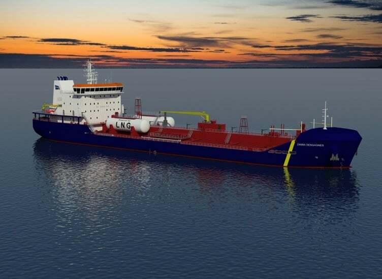sektorel, haberler - damia - Dual Yakıtlı İlk Asfalt Tankeri
