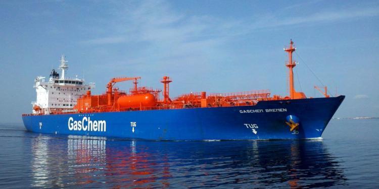 tanker - gaschem bremen 750x375 - Yarı Soğutmalı Gemilerin Özellikleri