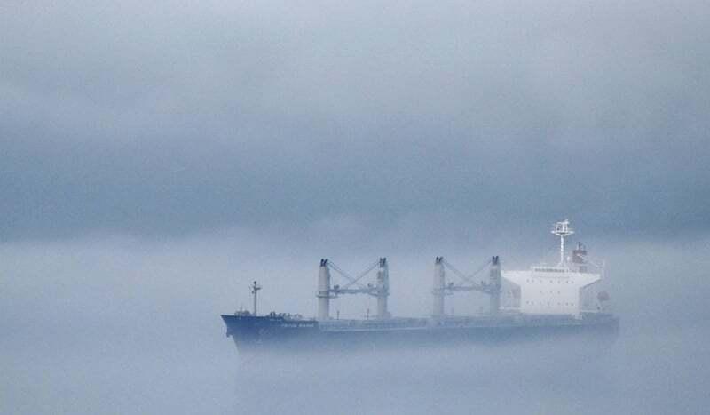 teknik-bilgiler - sis içinde gemi - Vardiya Zabitinin Görevleri   Kaptan Fethi Yağız