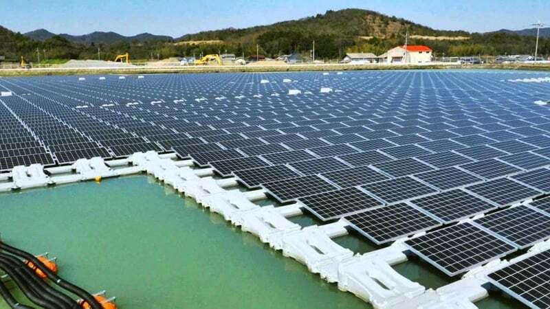ilginc - solar tarla - Deniz Üzerine Güneş Enerjisi Santrali