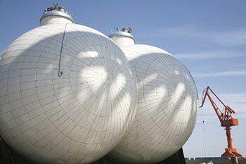 tanker - son - LPG Gemilerinde Type C Türü LPG Tanklarının Özellikleri