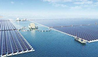 ilginc - yüzen elektrik santrali 335x195 - Deniz Üzerine Güneş Enerjisi Santrali