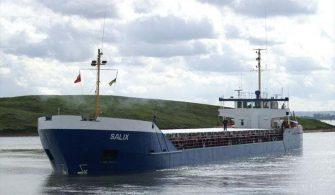SALIX gemisi tutuklandı