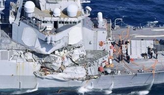 USS Fitzgerald accident