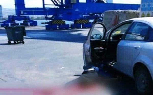 alsancak limanında kaza