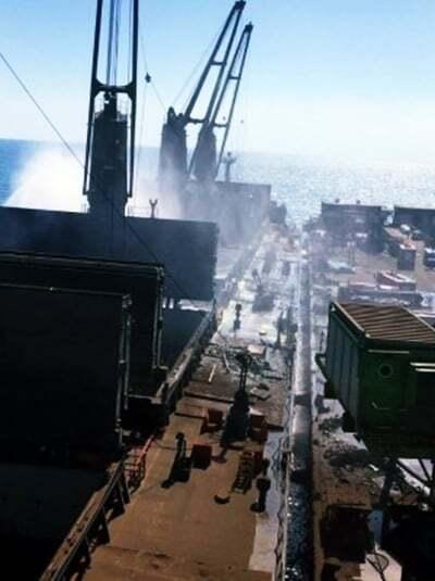 haberler, gundem - iskenderunda gemi yangini GLOBAL LAGUNA - İskenderunda Gemi Yangını