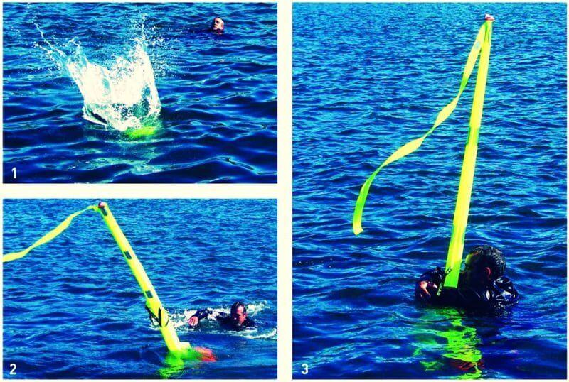 teknik-bilgiler, gemicilik-ve-manevra - DanBuoy Kullanımı man overboard - Tekneden Denize Adam Düşmesinde Yapılması Gerekenler | Williamson Turn