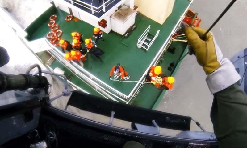 haberler, gundem - gemi personeli kurtarıldı - Batan Geminin Personeli Helikopter İle Kurtarıldı | Video