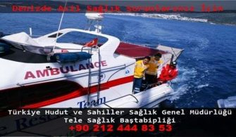 Deniz Ambulansı Telefon