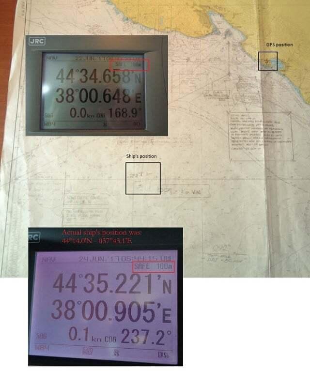 sektorel, haberler - GPS resim - Dikkat: Ruslar Karadenizde GPS Sistemlerine Siber Saldırı Yapıyor