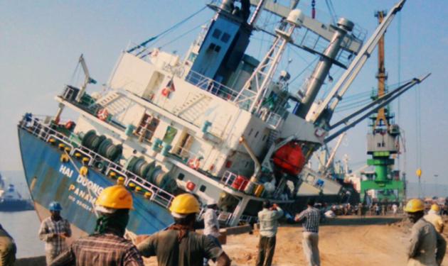 Gemi Kazası Hindistan