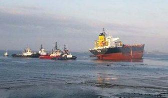 haberler, gundem - Hollanda Tanker Kazası 335x195 - Tanker ve Kuruyük Gemisi Çatıştı