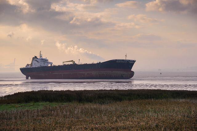 haberler, gundem - Hollanda Tanker Kazası3 - Tanker ve Kuruyük Gemisi Çatıştı