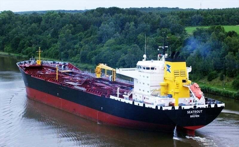 haberler, gundem - MT SEATROUT - Tanker ve Kuruyük Gemisi Çatıştı
