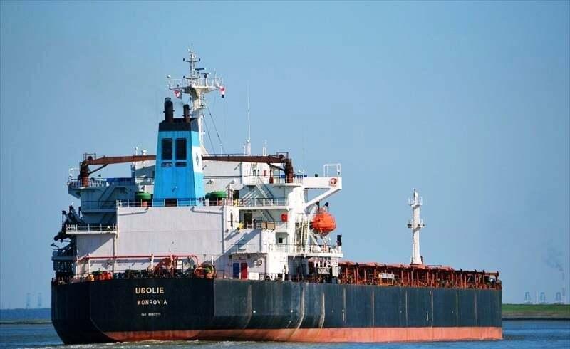 haberler, gundem - MV USOLIE - Tanker ve Kuruyük Gemisi Çatıştı