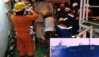 Tanker Kazası patlama