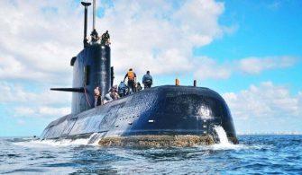 Arjantin Deniz Kuvvetlerine Ait Denizaltı 44 Mürettebatı ile Kayboldu