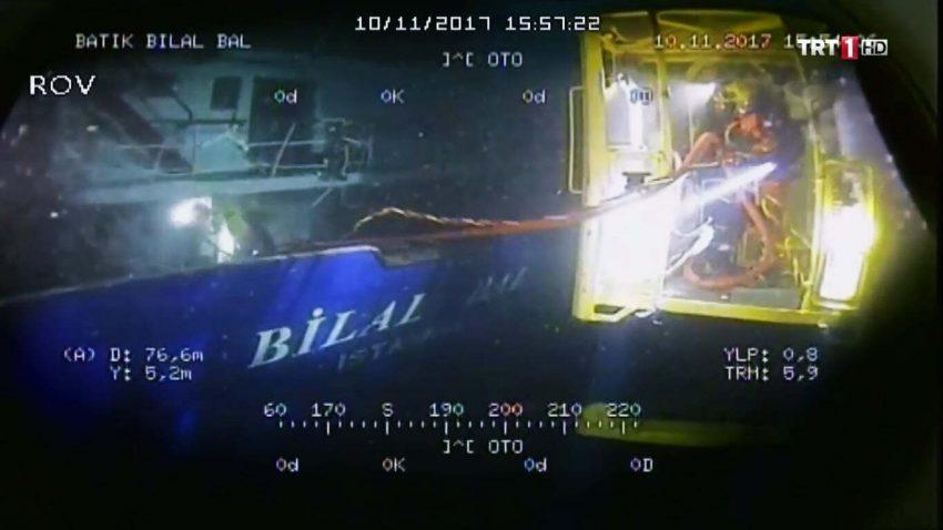Bilal Bal gemisi Dalgıç