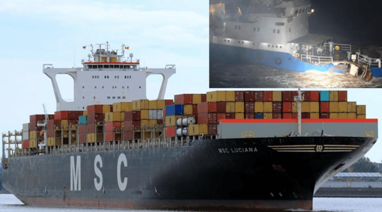 haberler, gundem - Ekran Resmi 2017 11 28 23.44.14 1 - MSC Luciana Gemisi Mavna İle Çatıştı