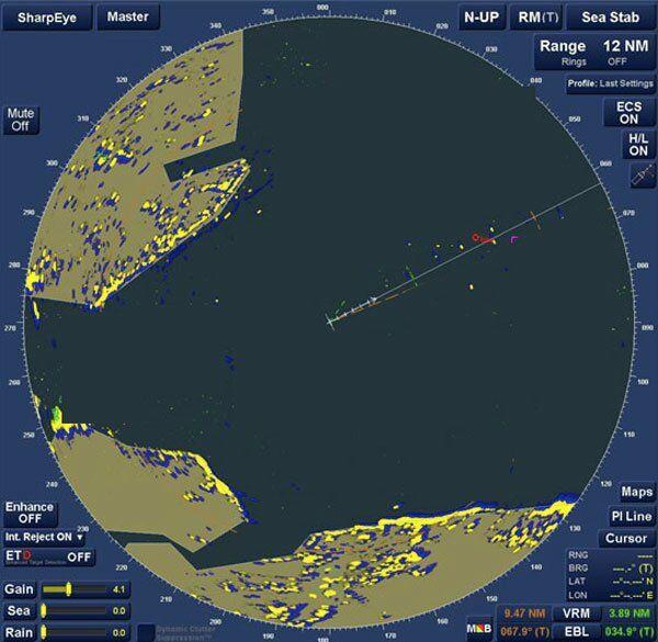 seyir - Radar for anchor watch - Geminizin Demir Taradığını Nasıl Anlarsınız ?