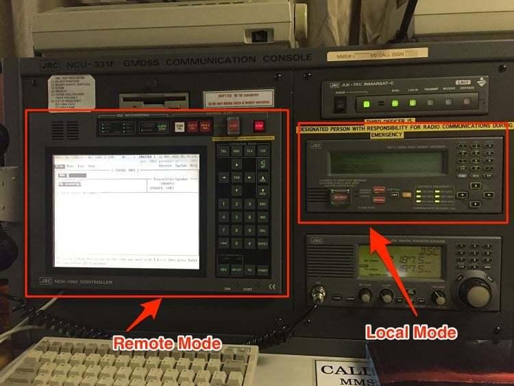 goc-gmdss - JRC MF HF modes - GMDSS MF/HF Testi Nasıl Yapılır ?
