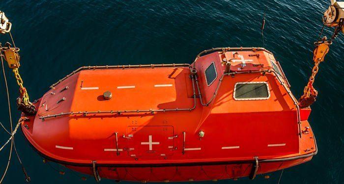 Lifeboat-maintenance
